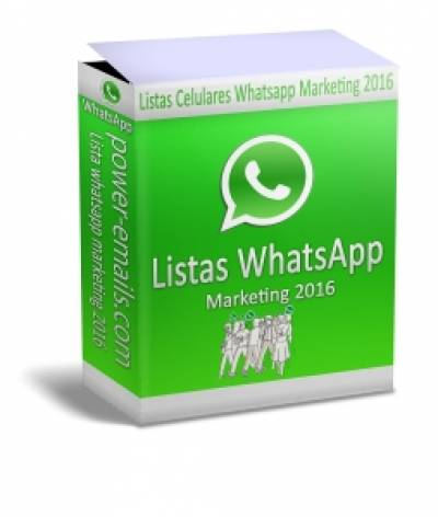Lista Celulares Whatsapp Marketing